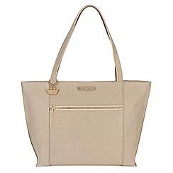 Portobello W11 - Frappe 'Brie' Saffiano real leather hand bag