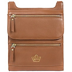 Portobello W11 - Tan 'Pembridge' soft leather small bag