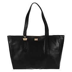 Portobello W11 - Black 'Maisy' fine leather handbag
