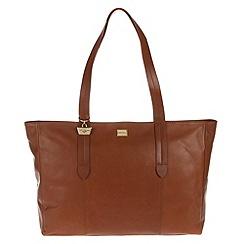 Portobello W11 - Nutmeg 'Maisy' fine leather handbag