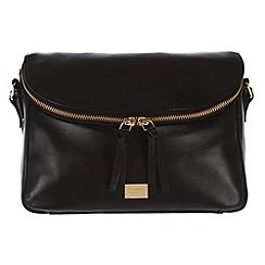 Portobello W11 - Black 'Polly' fine leather bag