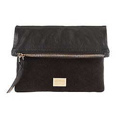Portobello W11 - Black 'Nita' soft leather mini waist bag