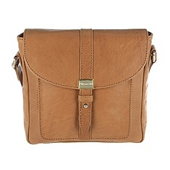 Portobello W11 - Tan 'Livvy' soft leather small across-body bag