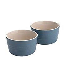 Le Creuset - Mineral blue stoneware utensil jar