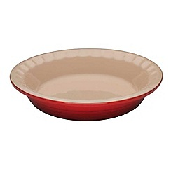Le Creuset - Cerise stoneware 22cm Heritage pie dish