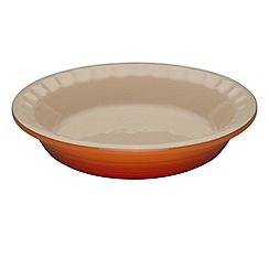 Le Creuset - Volcanic stoneware 22cm Heritage pie dish