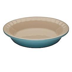 Le Creuset - Teal stoneware 22cm Heritage pie dish