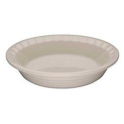 Le Creuset - Almond stoneware 22cm Heritage pie dish