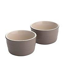Le Creuset - Sisal stoneware set of 2 ramekins