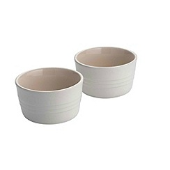 Le Creuset - Cotton stoneware set of 2 ramekins