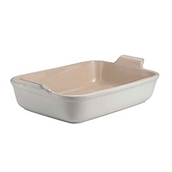 Le Creuset - Cotton stoneware 19cm deep rectangular dish