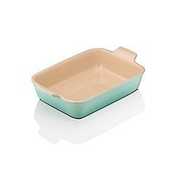 Le Creuset - Cool mint 26cm rectangular dish