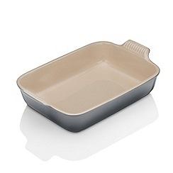 Le Creuset - Heritage 32cm Deep Rectangular Dish Flint