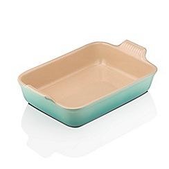 Le Creuset - Cool mint 32cm rectangular dish