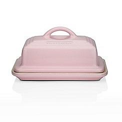 Le Creuset - Chiffon pink butter dish