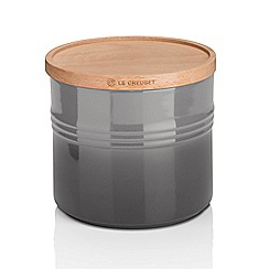 Le Creuset - XL Storage Jar with Wood Flint