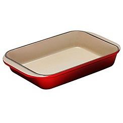 Le Creuset - Cerise cast iron 30cm rectangular dish