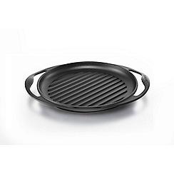 Le Creuset - Cast Iron Round Grill 25cm Satin Black