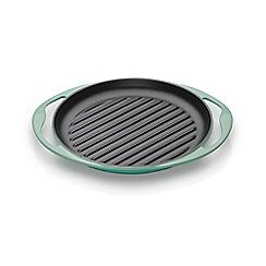 Le Creuset - Cool mint 25cm cast iron round grill