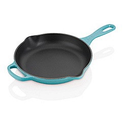 Le Creuset - Signature  Round Skillet 23 Teal