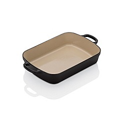 Le Creuset - Evo satin black 29cm rectangular roaster