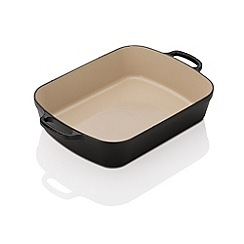 Le Creuset - Evo satin black 33cm rectangular roaster