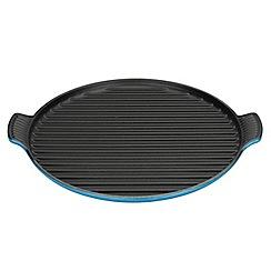 Le Creuset - Marseille blue 32cm bistro grill