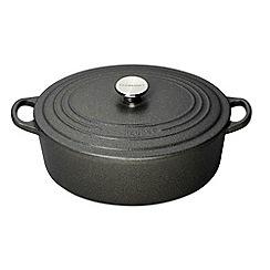 Le Creuset - Slate cast iron 29cm oval casserole