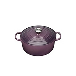 Le Creuset - Cassis signature 20cm round casserole