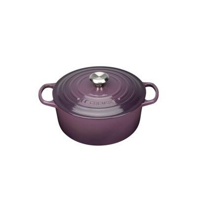 Le Creuset Cassis signature 22cm round casserole