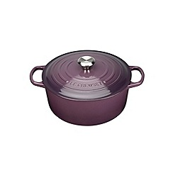 Le Creuset - Cassis signature 26cm round casserole