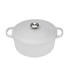 Le Creuset - Cotton signature 28cm round casserole