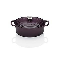 Le Creuset - Signature Cast Iron 23cm Oval casserole Cassis