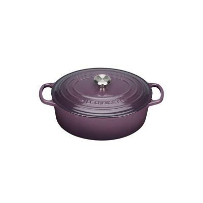 Le Creuset Cassis signature 27cm oval casserole