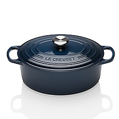Le Creuset - Signature Cast Iron Oval Casserole 29cm Ink