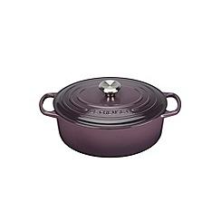 Le Creuset - Cassis signature 29cm Oval casserole