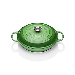 Le Creuset - Signature Shallow Cass 30cm Rosemary