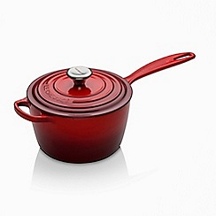 Le Creuset - Cast Iron Signature Saucepan 18cm Cerise