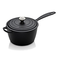 Le Creuset - Signature Cast Iron Saucepan 20cm Satin Black