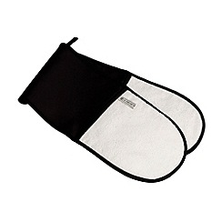 Le Creuset - Black double oven glove
