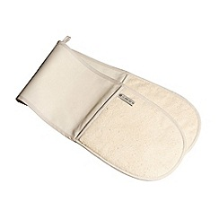 Le Creuset - Cream double oven glove