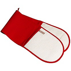 Le Creuset - Red double oven glove