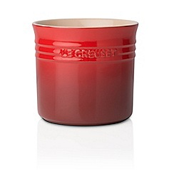 Le Creuset - Cerise red large utensil jar