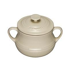 Le Creuset - Almond stoneware soup bowls x 2