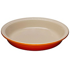 Le Creuset - Volcanic stoneware 24cm pie dish