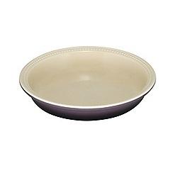 Le Creuset - Cassis stoneware 24cm pie dish