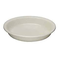 Le Creuset - Almond stoneware 24cm pie dish