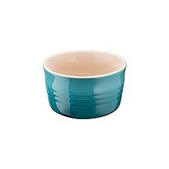 Le Creuset - Teal stoneware set of 2 ramekins