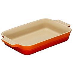 Le Creuset - Volcanic stoneware 26cm rectangular dish