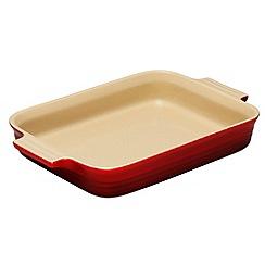 Le Creuset - Cerise stoneware 32cm rectangular dish